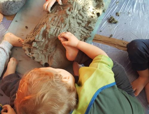 Raccontando il nostro laboratorio con l'argilla