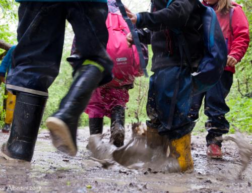 Attraverso il fango entriamo in contatto con noi stessi!
